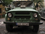 UAZ-469 on Garbarska street in Kraków (4).jpg