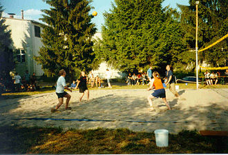 Environmental Campus Birkenfeld - Annual beach volleyball tournament.