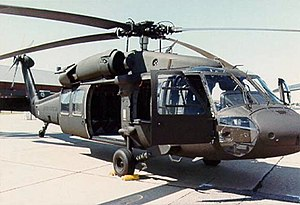 Sikorsky UH-60 Black Hawk - UH-60A Black Hawk parked on flight line