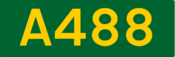 A488 road shield