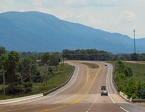 McMinn County, Tennessee - U.S. Route 411 near Etowah
