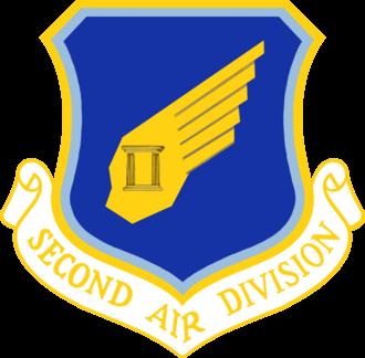 2nd Air Division - 2nd Air Division emblem