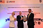 USAID-PYWD project and COTHM hold Roundtable to Provide Skills-based Training in Hospitality Education and Healthcare Services (26981000917).jpg