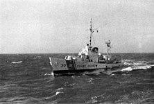 USCGC Duane (WHEC-33) off Vietnam in 1968