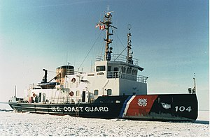 USCG ice breaker Biscayne Bay
