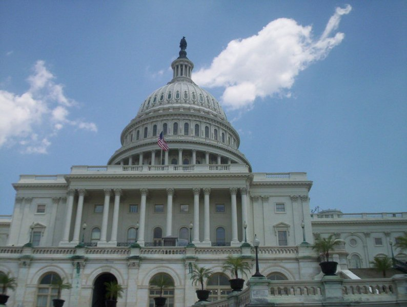 United States Capitol, Washington, D.C., United States; Vertical View