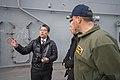 USS Bonhomme Richard (LHD 6) Welcomes Asahi Shimbun Reporter 170118-N-TH560-063.jpg