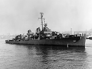 USS <i>Johnston</i> (DD-557) WW2 destroyer; deepest known shipwreck