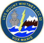 USS Mount Whitney LCC-20 Crest.png