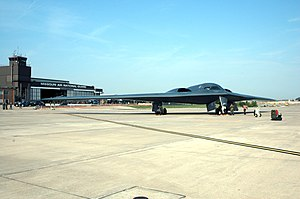 110th Bomb Squadron - B-2 Spirit stealth bomber operated by the Missouri Air National Guard 110th Bomb Squadron