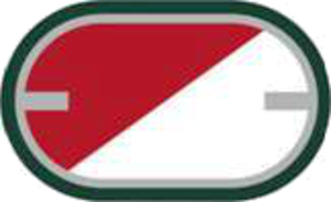 33rd Armor Regiment - Image: US Army 1st Sq 33rd Cav Reg Oval