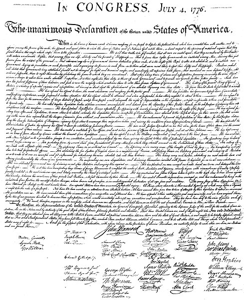 File:US Declaration of Independence 5000w.jpg