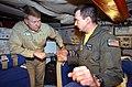 US Navy 021213-N-3235P-515 Rear Adm. John D. Stufflebeem, Commander Carrier Group Two (CCG 2), tours a C-2A.jpg