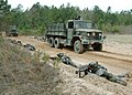US Navy 060323-N-0057D-103 Naval Reservists and active duty personnel conduct convoy operations during an Individual Augmentee Training Course at the McCrady Training Center.jpg