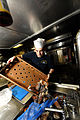 US Navy 110829-N-YZ751-030 Culinary Specialist 3rd Class Alexander R. Laduca prepares lobsters for the crew aboard the guided-missile destroyer USS.jpg