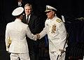 US Navy 110923-N-AC887-002 Secretary of the Navy Ray Mabus looks on as former Chief of Naval Operations (CNO) Adm. Gary Roughead.jpg