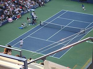 Big Four (tennis) - Novak Djokovic and Rafael Nadal during the 2011 US Open final