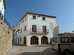 Ubicació Castell de Sant Vicenç de Calders.JPG