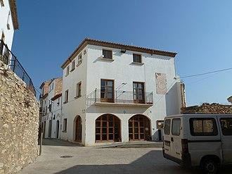 Sant Vicenç de Calders - Plaça Major in Sant Vicenç
