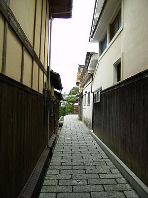 Uchiko, Ehime - Image: Uchiko Narrow Street