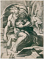 Ugo da Carpi - Diogenes, after Parmigianino - Google Art Project.jpg