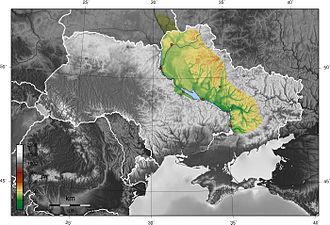Dnieper Lowland - Image: Ukraine Pridniprovska nizovina