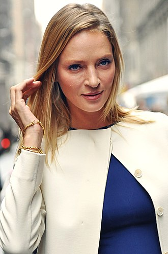 Uma Thurman - Thurman attending Fashion Week in New York City in 2011