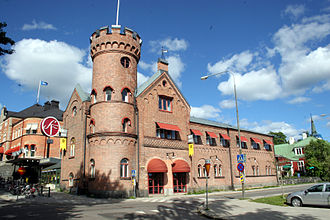 Umeå city fire - The oldest fire station in the city dates from the year of the fire
