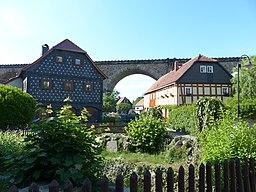 Umgebinde Brückenweg 8-12 Obercunnersdorf (1)