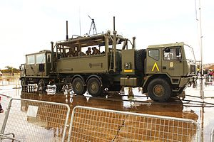 Spanish Armed Forces - UME Mobile Command Station.