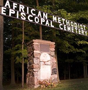 Norwich, Ontario - Underground Railway Cemetery