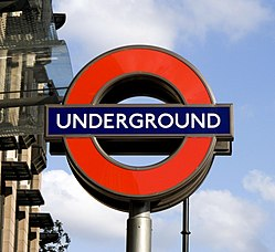 The London Underground, both attraction and easy way of getting around the city.