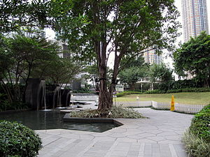 Union Square (Hong Kong) - Public Open Spaces of Union Square