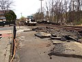 Union Station, Northampton platform work.jpg