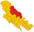 Unione dei comuni della Val di Vara-mappa.png