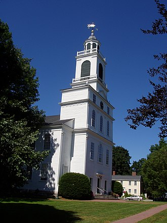 Bedford, Massachusetts - Exterior, Unitarian Church (1816)