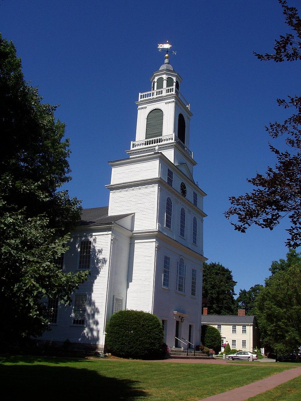 Unitarian Meeting House (exterior) Bedford, Massachusetts