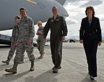 United States Sen. Lisa Murkowski, R-Alaska, visits Joint Base Elmendorf-Richardson 150630-F-YH552-164 (cropped).jpg