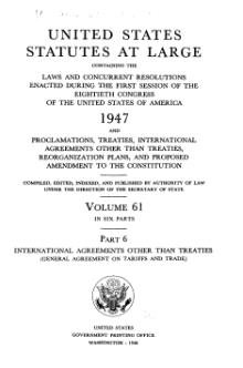 United States Statutes at Large Volume 61 Part 6.djvu