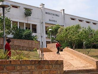 National University of Rwanda - Image: Université nationale du Rwanda à Butare