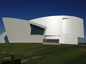 University of Alaska Museum of the North - Current museum building