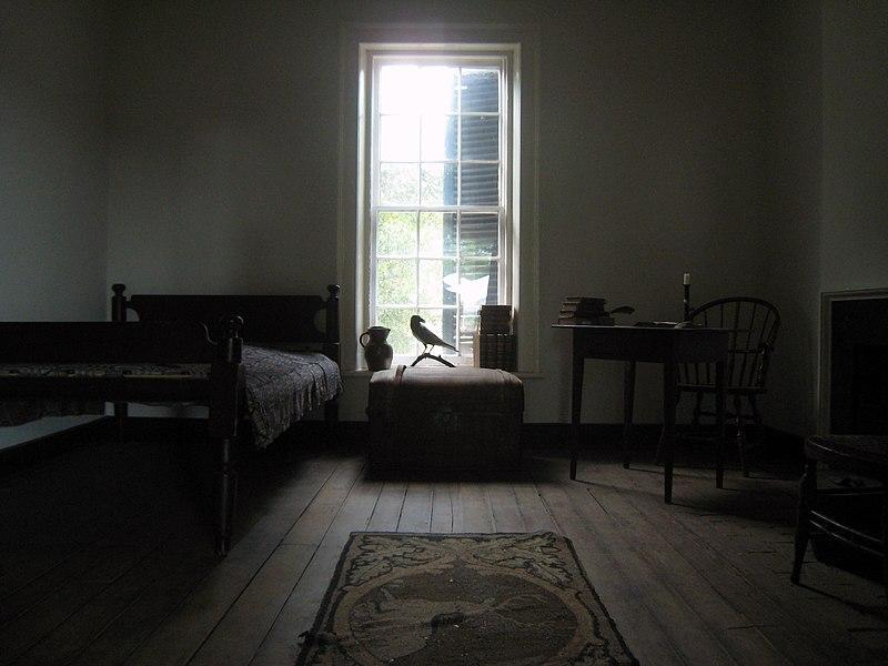 File:University of Virginia room of Edgar Allan Poe.jpg