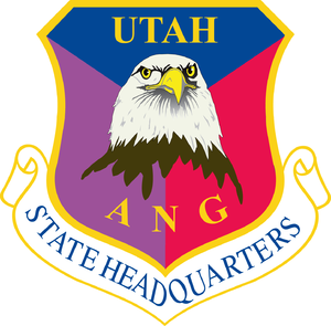 Utah Air National Guard - Image: Utah ANG headquarters emblem