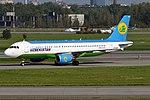 Uzbekistan Airways, UK32016, Airbus A320-214 (31416626185) (2).jpg