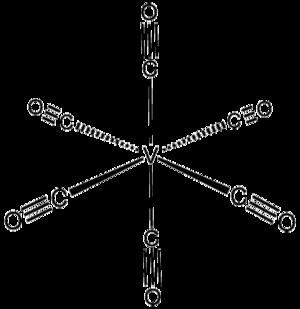 Vanadium hexacarbonyl - Image: V(CO)6