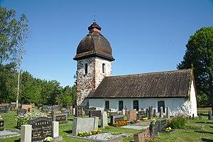 Vårdö - Vårdö church and cemetery