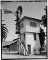 VIEW LOOKING NORTHEAST - John Krohn Tank House, 13000 Foothill Avenue, San Martin, Santa Clara County, CA HABS CAL,43-SANMA,1-2.tif