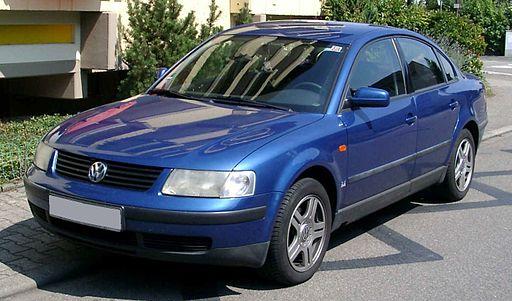 VW Passat B5 front 20080816