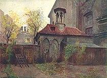 Vaclav Jansa - kaple Boziho hrobu na Zderaze.JPG