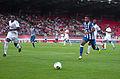 Valais Cup 2013 - OM-FC Porto 13-07-2013 - Souleymane Diawara et Alex Sandro.jpg